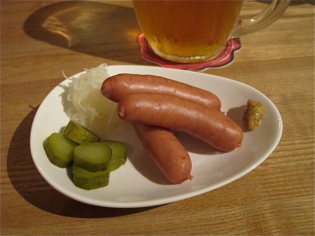 Pivoya sausage © Tokyo Food File