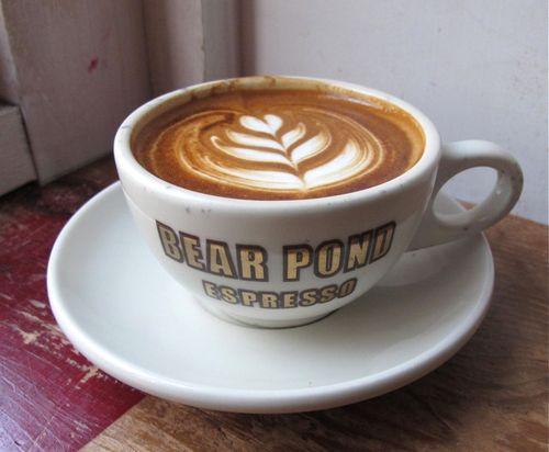 bear pond latte © Tokyo Food File