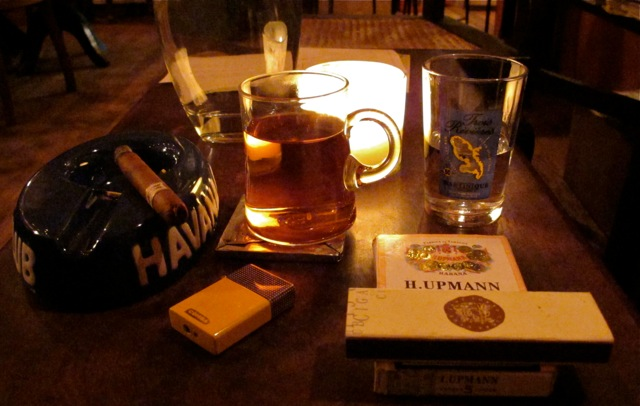 Hot rum & havana