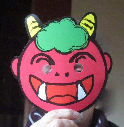 setsubun oni mask © Tokyo Food File