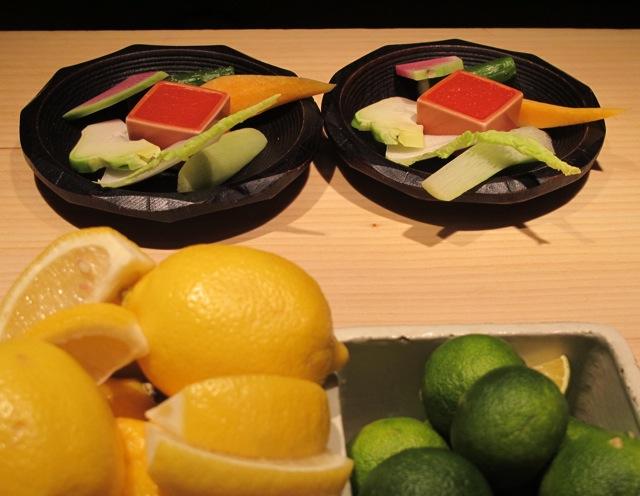 Shokkan crudités © Tokyo Food File