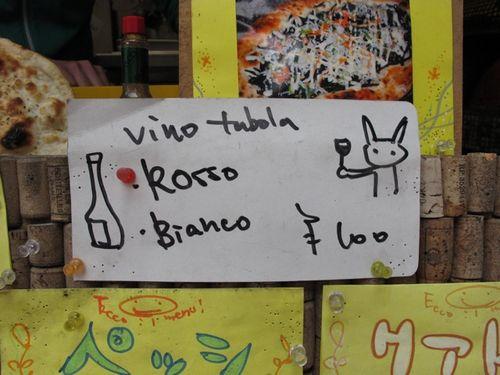 heidi pizza wine list (C) tokyo food file