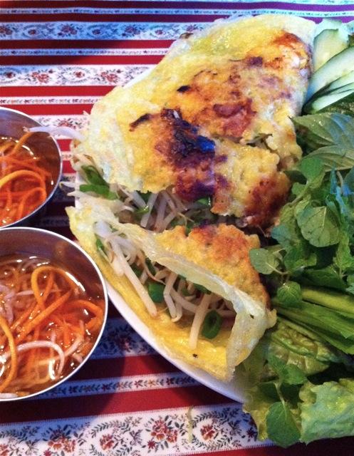 My-Le banh xeo (C) Tokyo Food FIle