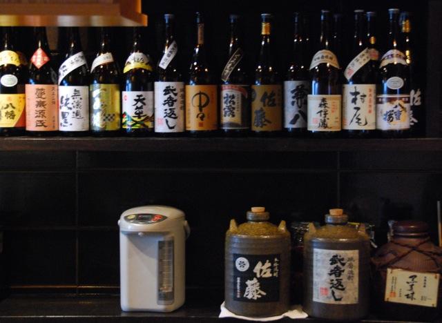 Nakamura shochu © Tokyo Food File