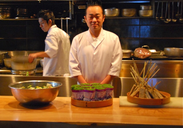 Nakamura chef Kawakubo © Tokyo Food File