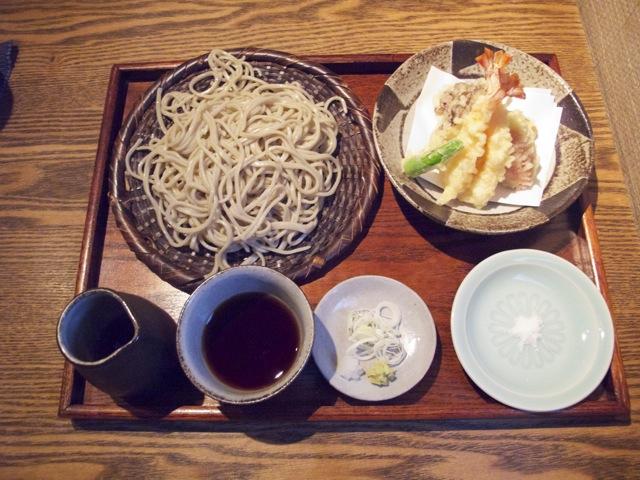 Muto ten-seiro soba © Tokyo Food File