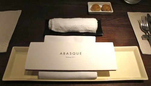abasque place setting © Tokyo Food File
