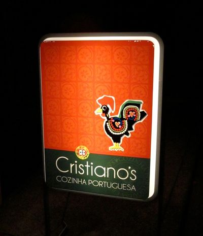 Cristianos sign (C) Tokyo Food File