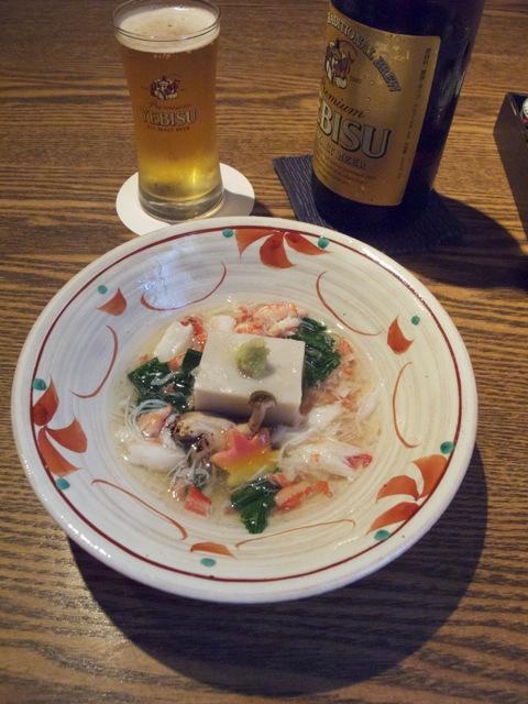 Muto soba-dofu kani-ankake 2 © Tokyo Food File