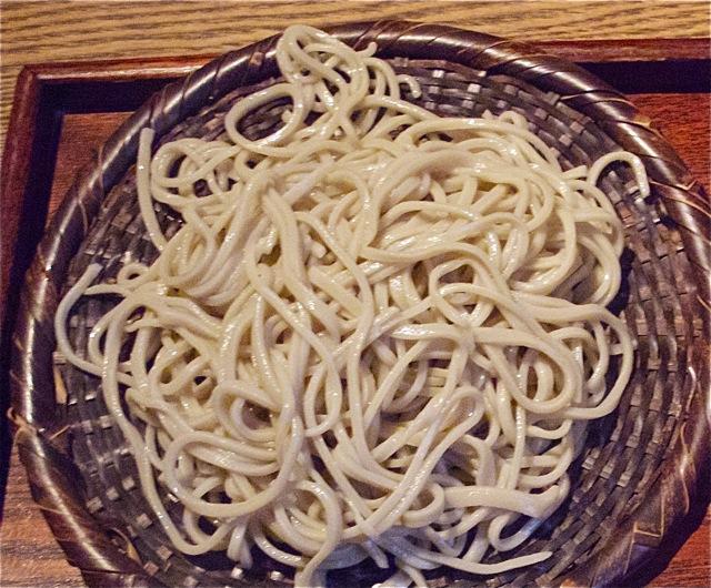 muto soba - seiro © Tokyo Food File