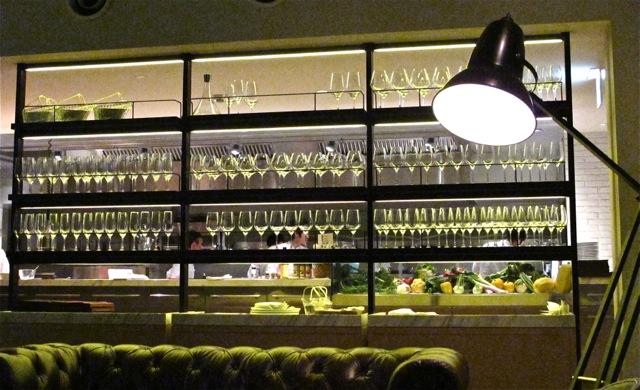 anglepoise & wine glasses (c) Tokyo Food File