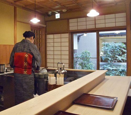 Yoshihashi interior © Tokyo Food File