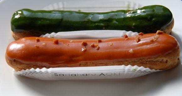 aoki eclairs 2 © Tokyo Food FIle