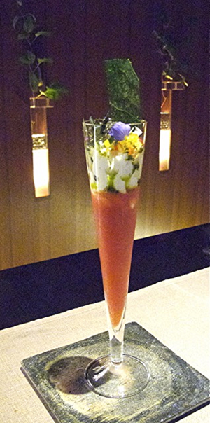 Takazawa parfait © Tokyo Food File