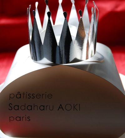 S.Aoki galette des rois crown (c) Tokyo Food File