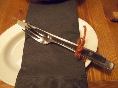 knife & fork © Tokyo Food FIle