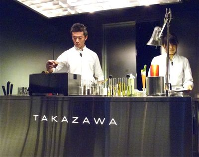 Takazawa altar © Tokyo Food File