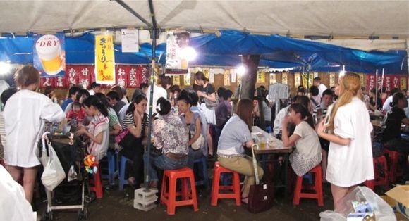 Matsuri seating © Tokyo Food File