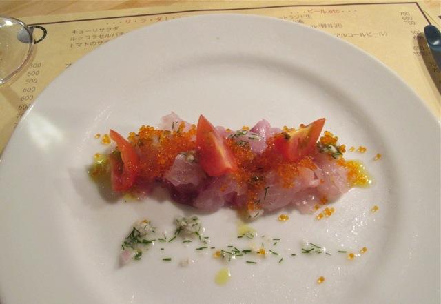 cafe bleu carpaccio © Tokyo Food File
