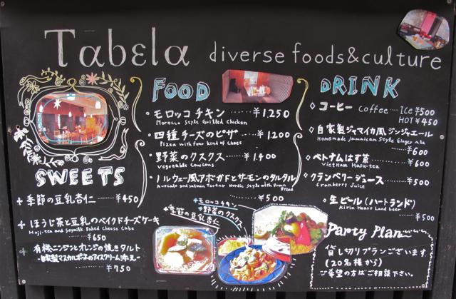 tabela diverse © Tokyo Food File