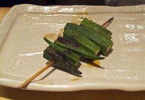 Torishiki okra © Tokyo Food File