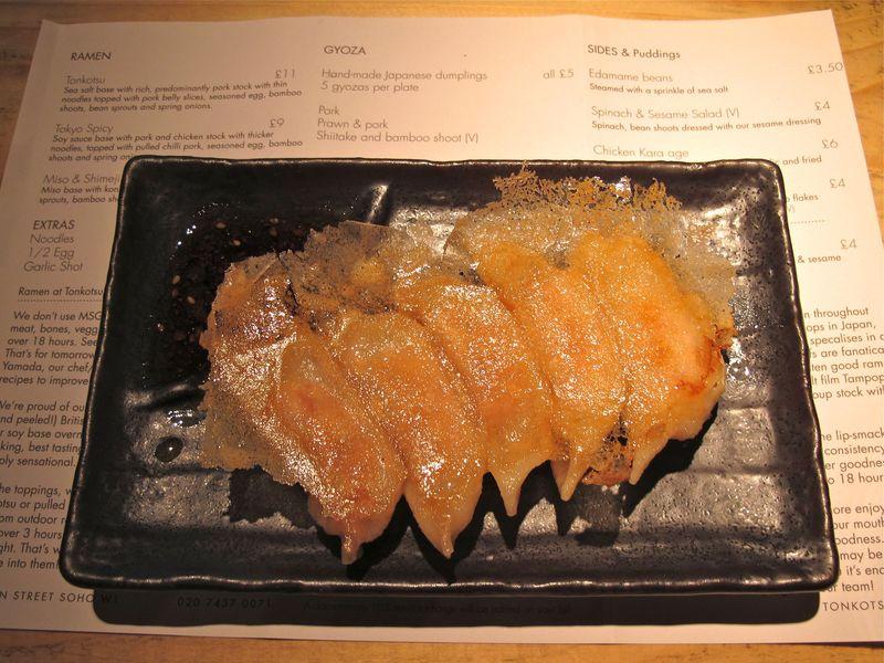 tonkotsu gyoza © Tokyo Food File