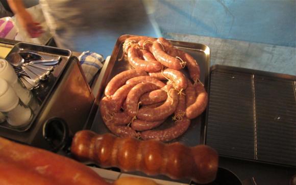 zinc sausages © Tokyo Food File