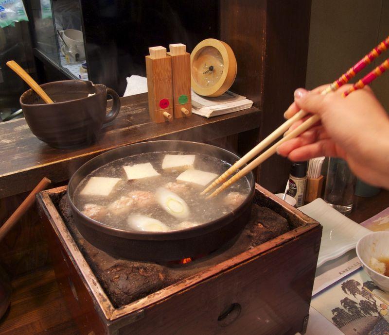 shamo-nabe dango (c) Tokyo Food File