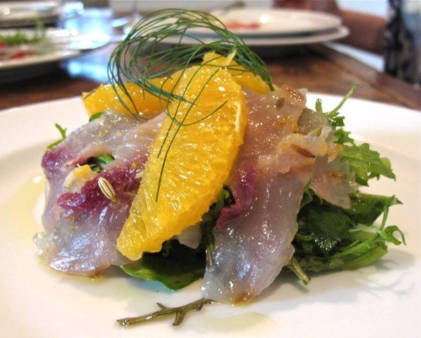 Oltrevino carpaccio © Tokyo Food File