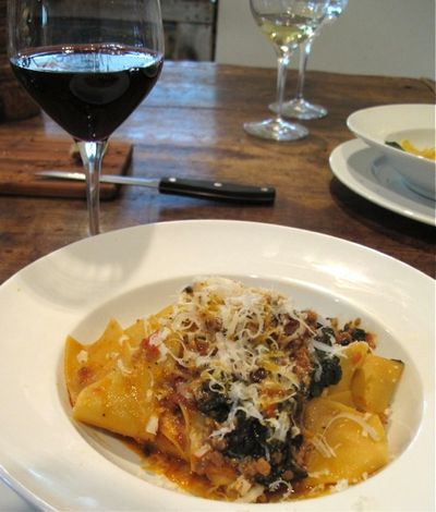 Oltrevino papardelle 2 © Tokyo Food File