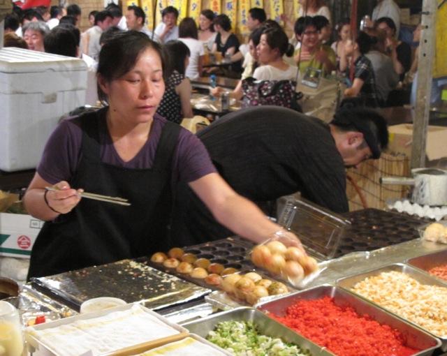Matsuri takoyaki © Tokyo Food File