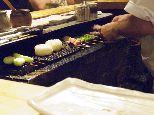 Torishiki grilling2 © Tokyo Food File