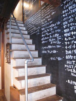 zinc stairs © Tokyo Food File