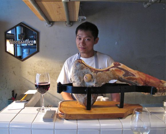 zinc jambon © Tokyo Food File