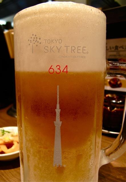 Rokurinsha 634 beer © Tokyo Food File