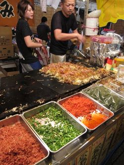 Matsuri okonomiyaki2 © Tokyo Food File