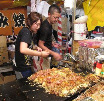 Matsuri okonomiyaki3 © Tokyo Food File