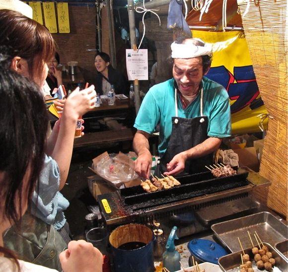 Matsuri yakitori © Tokyo Food File