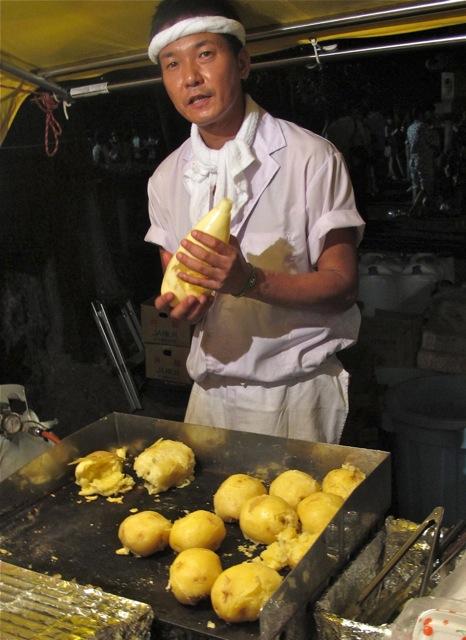 Matsuri jagabataa © Tokyo Food File
