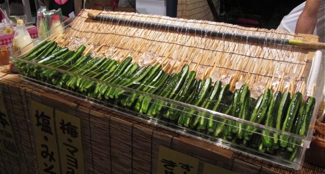 Matsuri kyuri2 © Tokyo Food File
