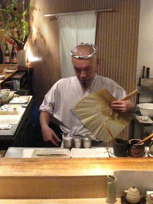 Torishiki fan © Tokyo Food File