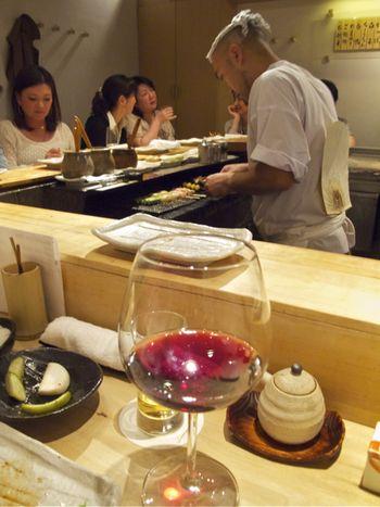 Torishiki counter © Tokyo Food File