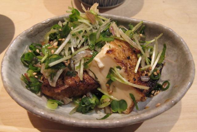 Torishiki tofu © Tokyo Food File