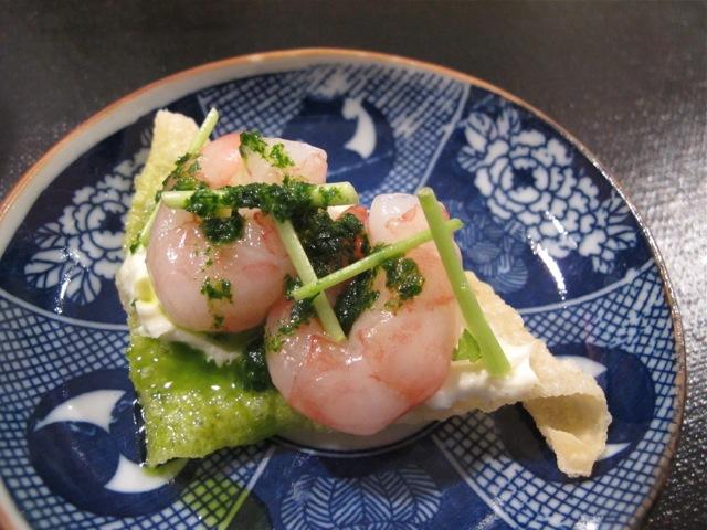 shrimp @ libushi © Tokyo Food File