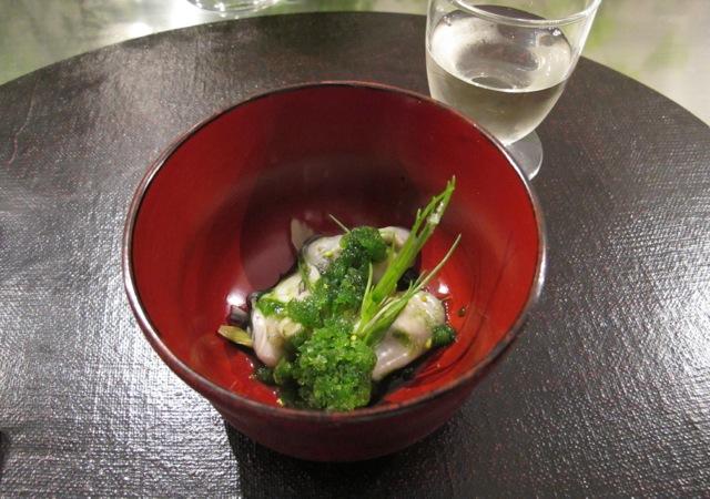 oyster @ libushi © Tokyo Food File