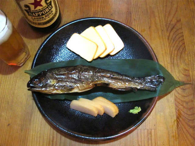Smoked trout © Tokyo Food File