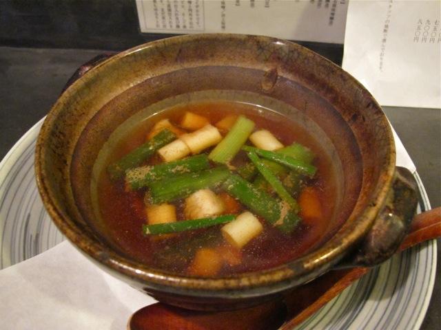 tamayura kamonanban nabe © Tokyo Food File