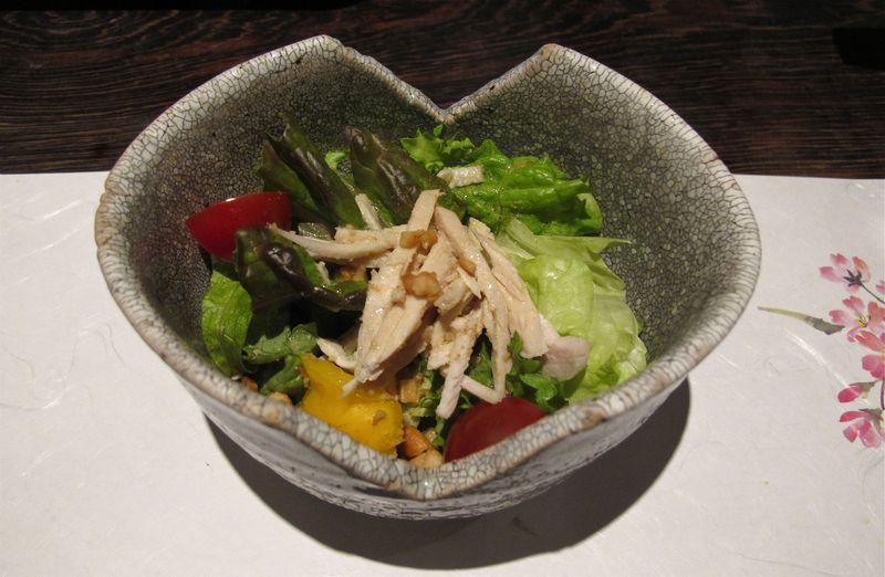 Innsyoutei salad © Tokyo Food File