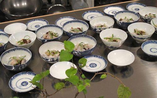 dishes @ libushi © Tokyo Food File