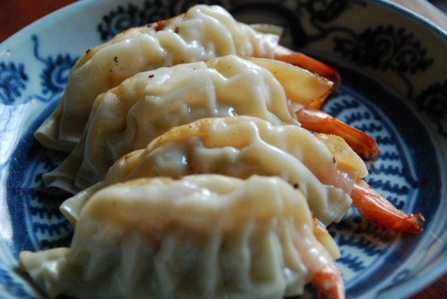 ebi gyoza © Tokyo Food File